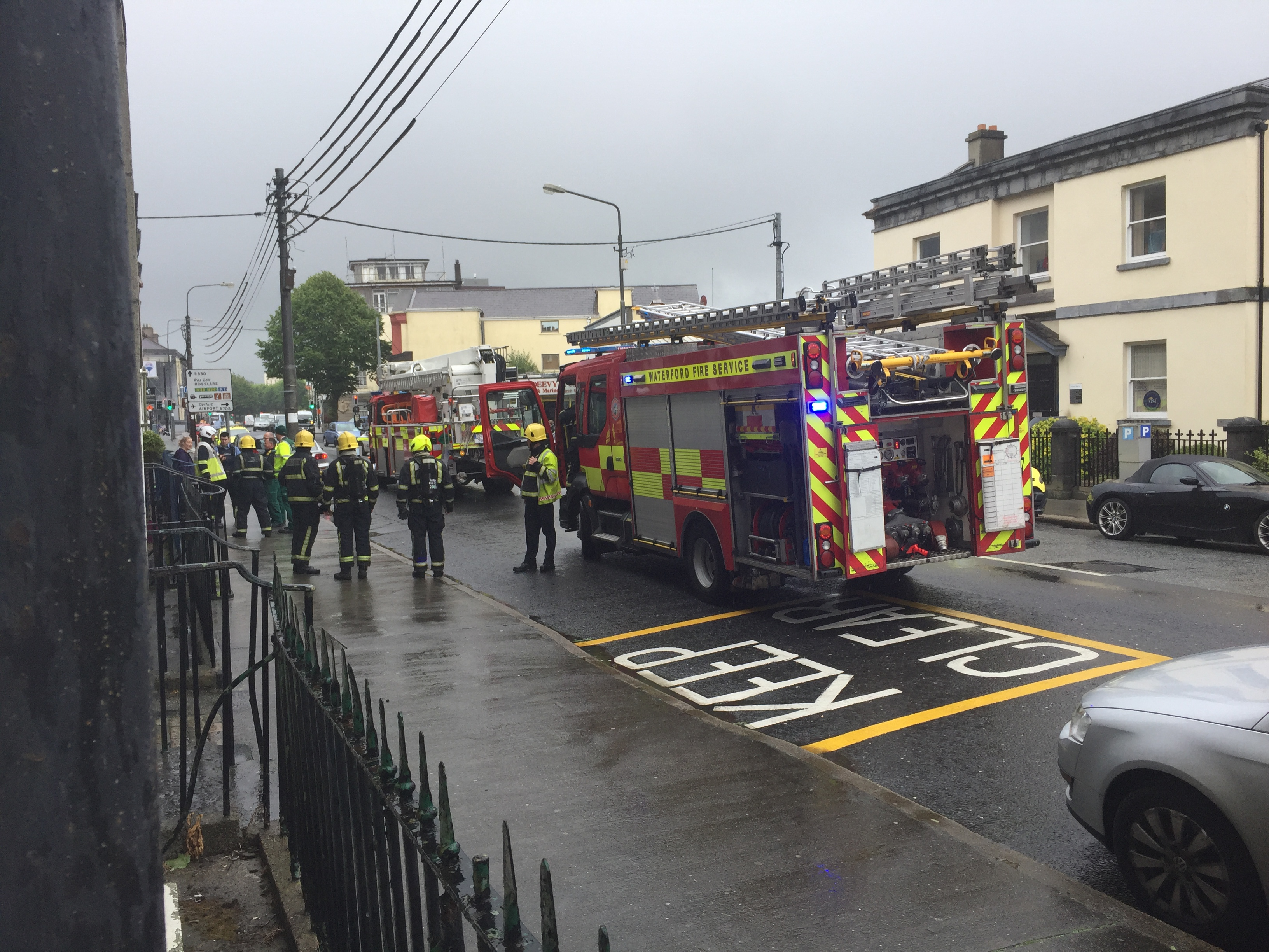 INcident on Parnell Street